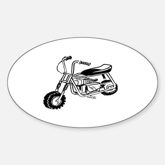Minibike Sticker (Oval)