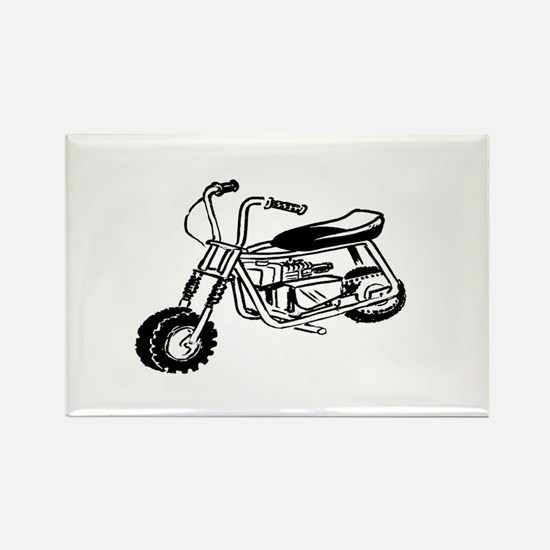 Minibike Rectangle Magnet