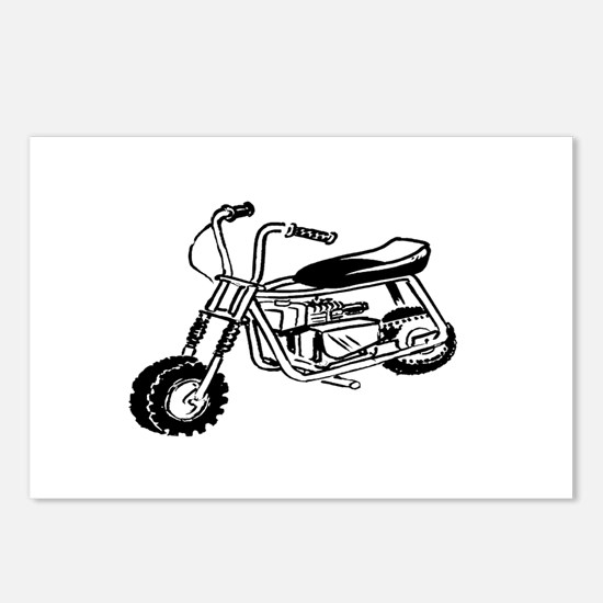 Minibike Postcards (Package of 8)