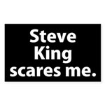 Steve King Scares Me Bumper Sticker