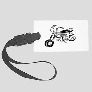 Minibike Large Luggage Tag
