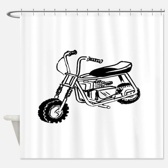 Minibike Shower Curtain