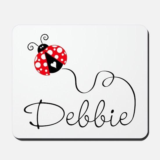 Ladybug Debbie Mousepad