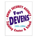 Ft. Devens Small Poster