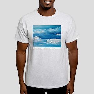 floating icebergs Light T-Shirt