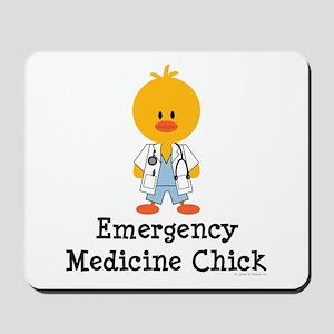 Emergency Medicine Chick Mousepad