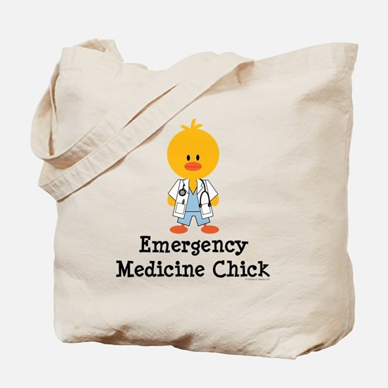 Emergency Medicine Chick Tote Bag