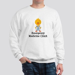 Emergency Medicine Chick Sweatshirt