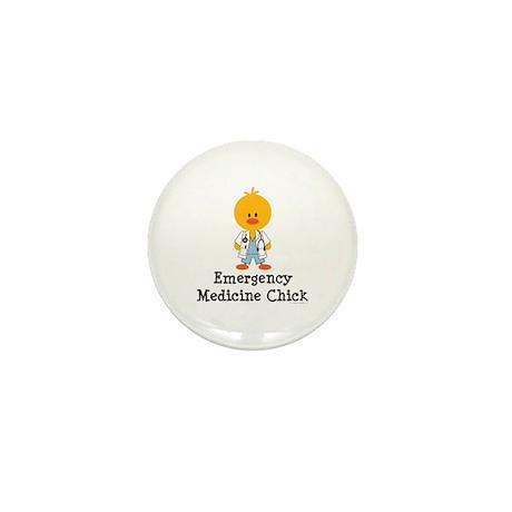 Emergency Medicine Chick Mini Button (100 pack)