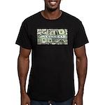 Men's Fitted T-Shirt (dark) 1