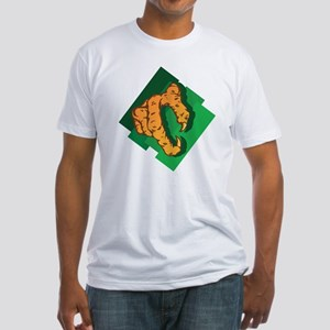 eagle leg Fitted T-Shirt