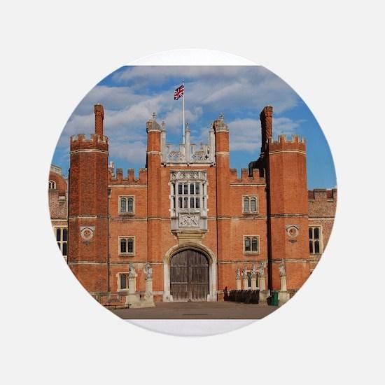 "Hampton Court Palace 3.5"" Button"