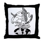 USASA Throw Pillow
