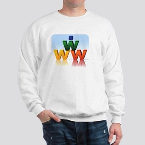 website letters Sweatshirt