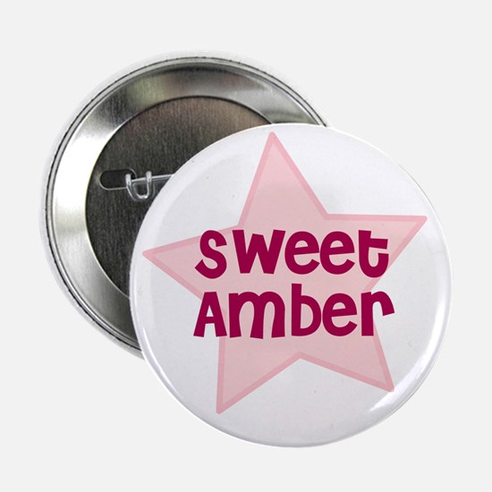 """Sweet Amber 2.25"""" Button (10 pack)"""