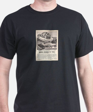 Vintage Flying Car Ad T-Shirt