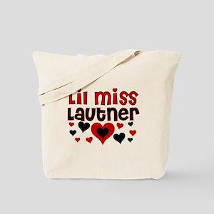 Lil Miss Taylor Lautner Tote Bag