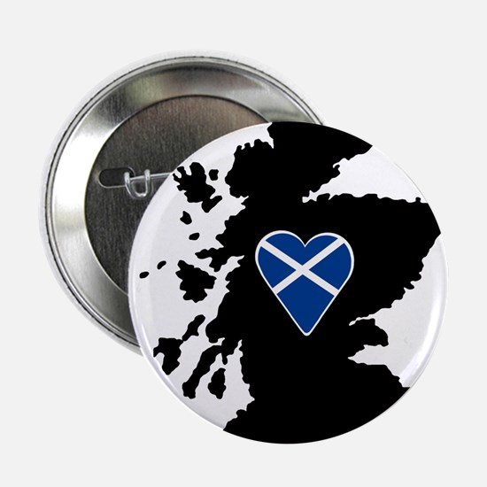 "Heart Flag on Silhouette of S 2.25"" Button"