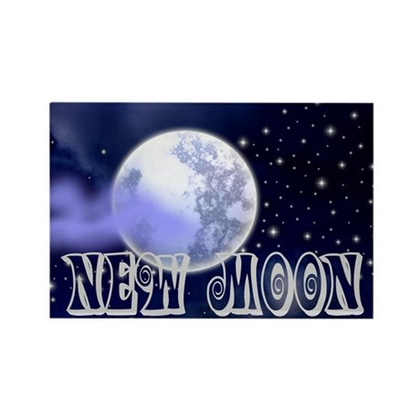 New Moon Night Sky Rectangle Magnet (100 pack)