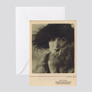 Norma Talmadge 1922 Greeting Card