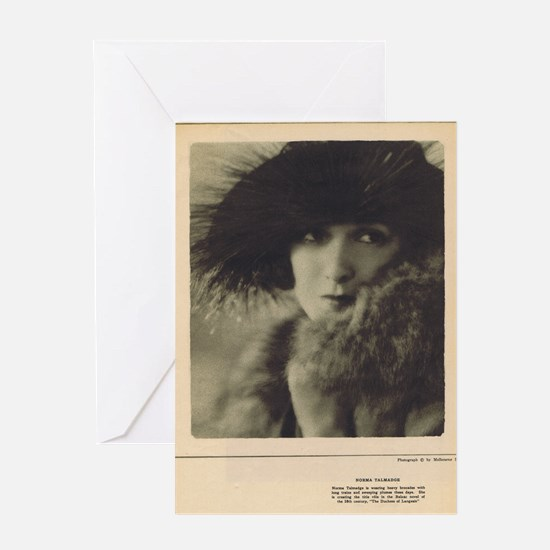 Norma Talmadge 1922 Greeting Card