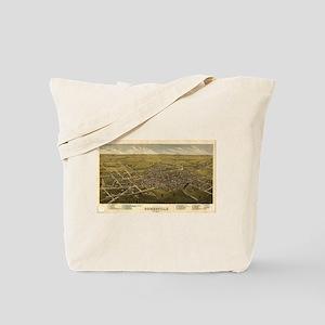 Somerville Map Tote Bag