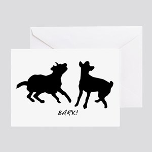 Bark! Greeting Card