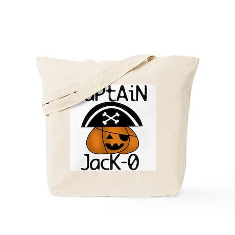 Halloween Pirate Tote Bag