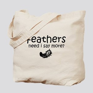 TWILIGHT! feathers Tote Bag
