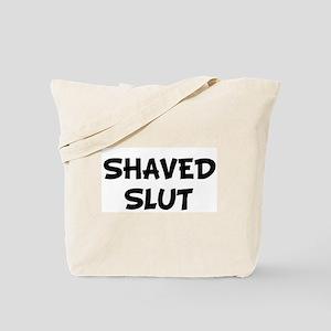 SHAVED SLUT Tote Bag