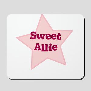 Sweet Allie Mousepad