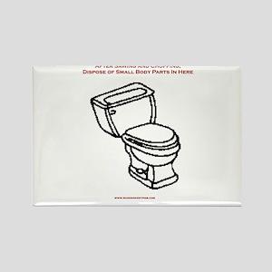 Body Disposal Rectangle Magnet