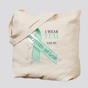 I Wear Teal for my Mother-In-Law Tote Bag
