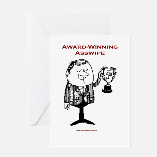Award Winner Greeting Card