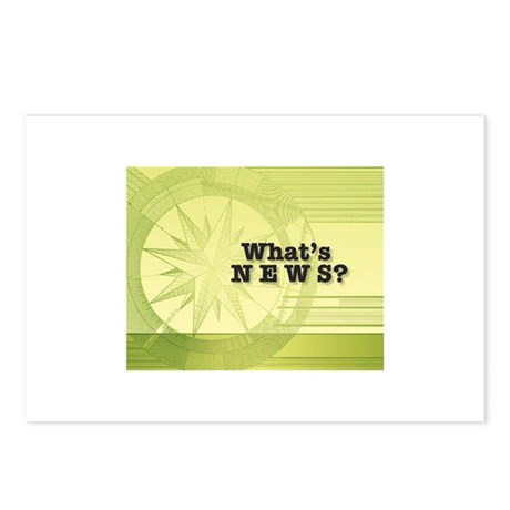 What's News? Postcards (Package of 8)