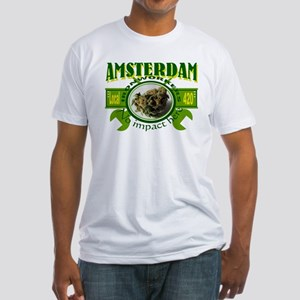 AMSTERDAM IRONWORKERS Fitted T-Shirt