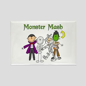 Monster Mash Rectangle Magnet