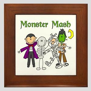 Monster Mash Framed Tile