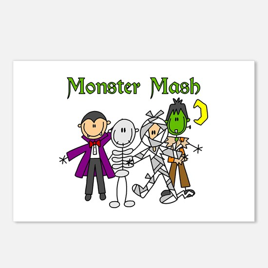 Monster Mash Postcards (Package of 8)