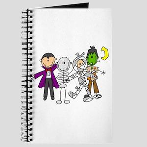 Halloween Monsters Journal