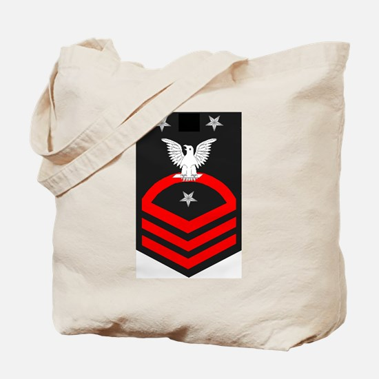 Command Master Chief Red Tote Bag