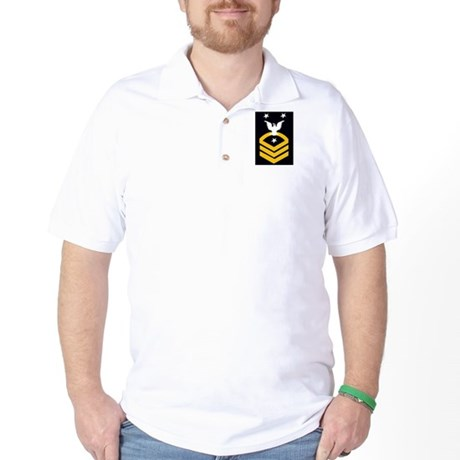 CMC Black/Gold Golf Shirt