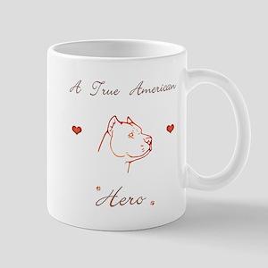 pit bull hero Mug