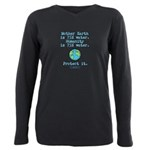 75% Water Protect It- Plus Size Long Sleeve Tee