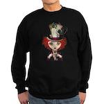 Lady Hatter Sweatshirt (dark)
