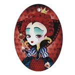 Queen of Hearts Pendant / Ornament / Necklace