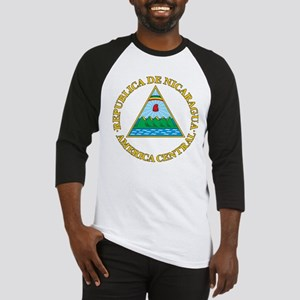 Nicaragua Coat Of Arms Baseball Jersey