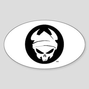 Beowulf Logo Sticker (Oval)