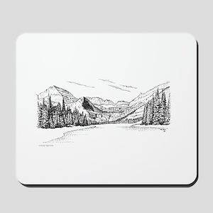 Glacier Park Mousepad