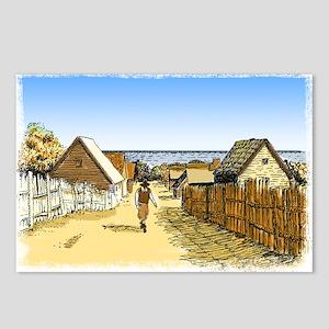 Plimoth Plantation Postcards (Package of 8)